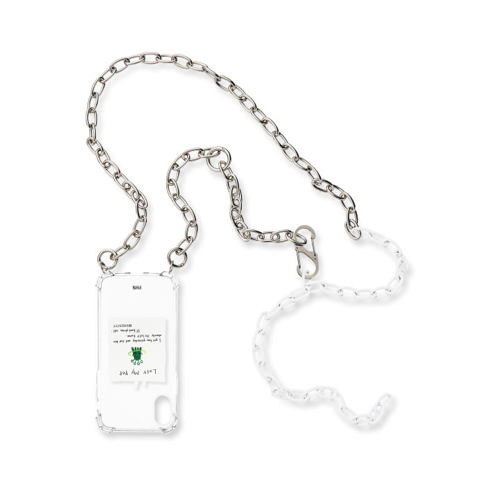 """WHITE MIXED CHAIN"" CASE"