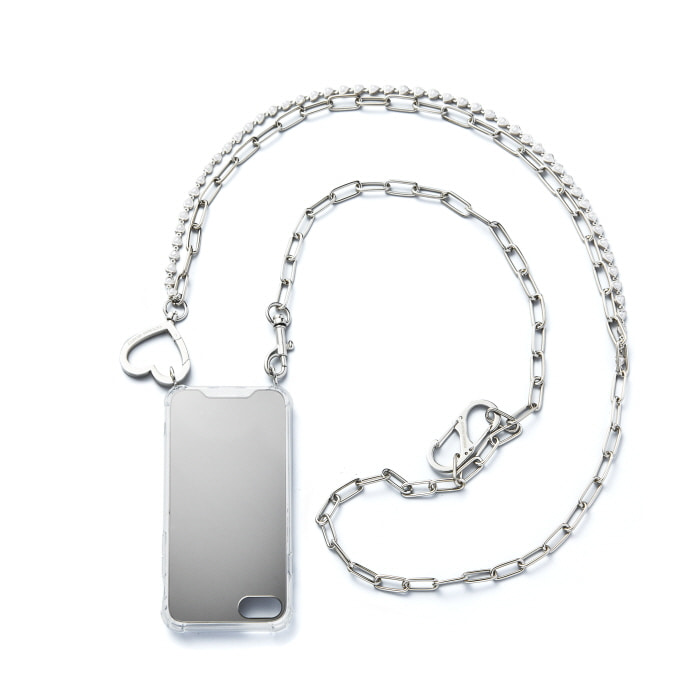 """LOVE PEARL LAYERED"" CHAIN CASE"