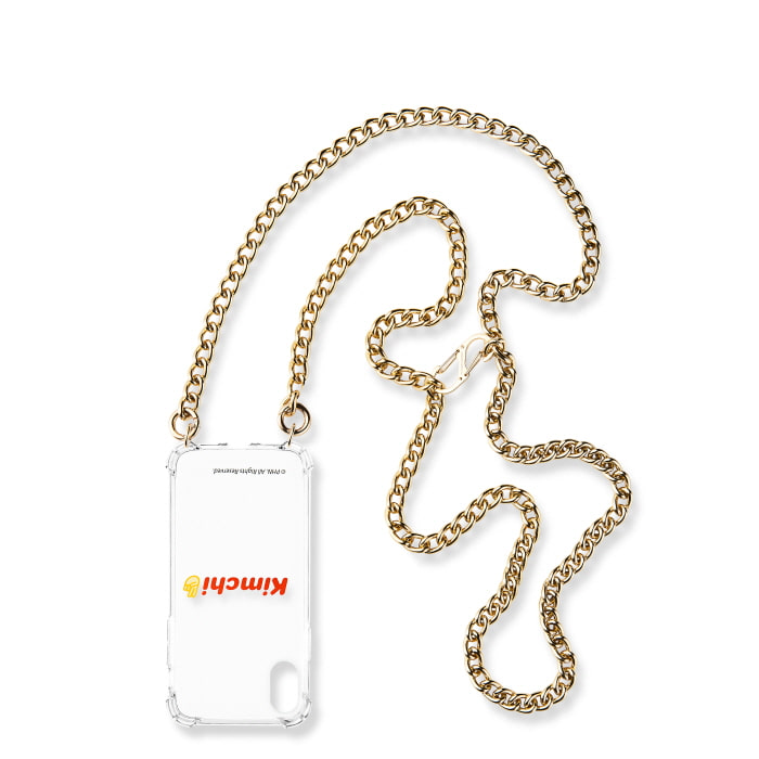 """GOLD TWISTED CHAIN"" CASE"