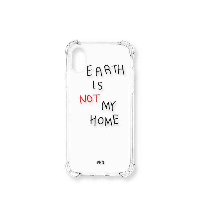 """EARTH IS NOT MY HOME"" RED CASE"