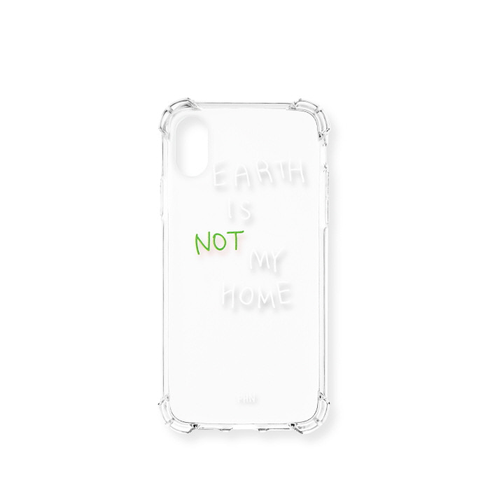 """EARTH IS NOT MY HOME"" GREEN CASE"