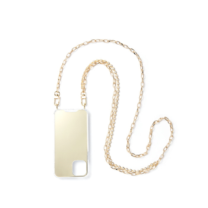 """LOVE GOLD PEARL MIXED"" CHAIN CASE"