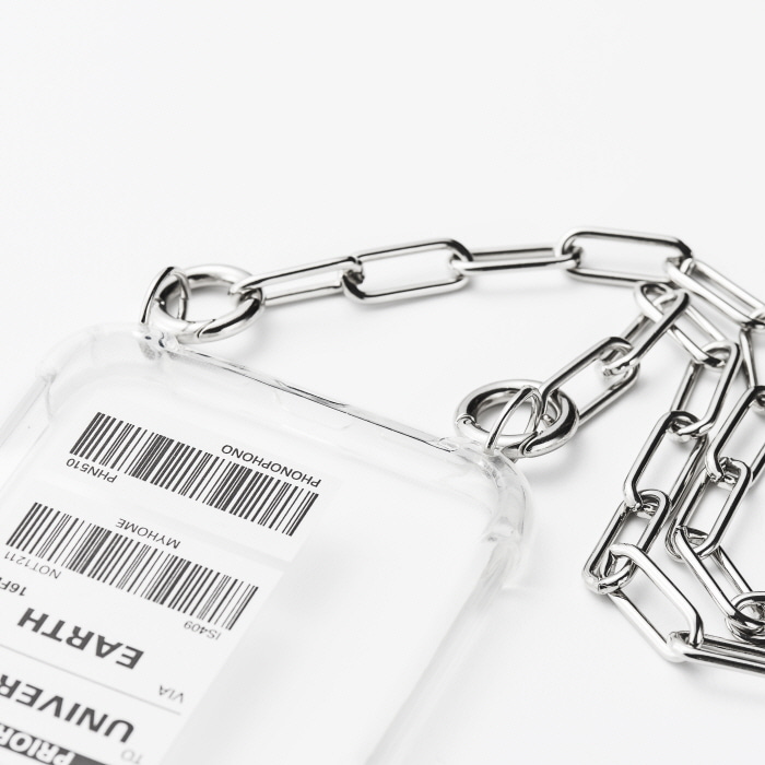 """BASIC SILVER CHAIN"" CASE"